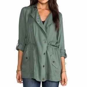 Soft Joie Cantara Jacket Coat Utility Agave Green